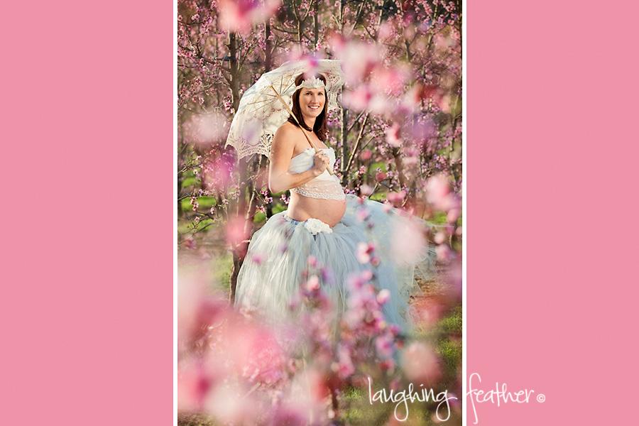 pregnant lady in tutu