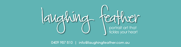 Laughing Feather logo